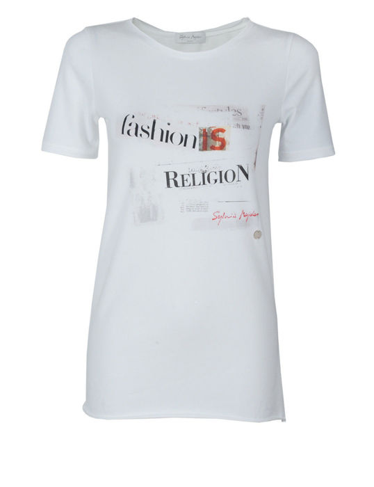 Fashion is religion t-shirt